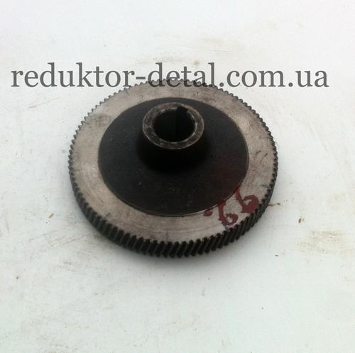 Колесо зубчатое Z=92 1-ой ступени - мотор-редуктора цилиндрического двухступенчатого соосного 1МЦ2С-100Н.