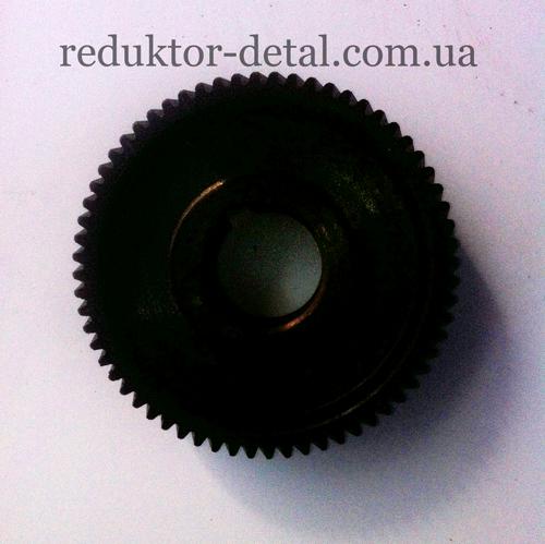 Колесо зубчатое Z=63 2-ой ступени - мотор-редуктора цилиндрического двухступенчатого соосного 1МЦ2С-80
