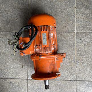 Мотор-редуктор ZFQ-38-MQ89M8 c двигателем 0,3 кВт. На выходе 12 об/мин.